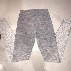 Lululemon Gray/White Ombré Yoga Pants